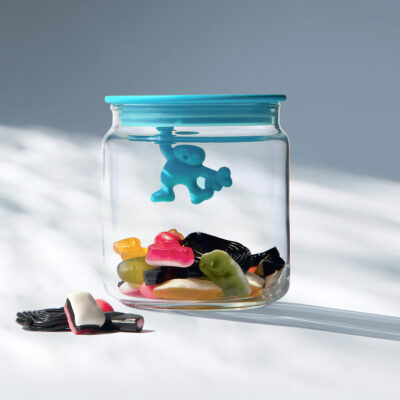 Gianni blue jar